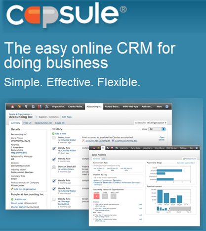 System introduction: Capsule CRM