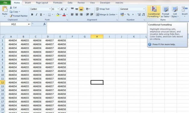 Using Conditional Formatting to Identify Duplicate Data in Excel