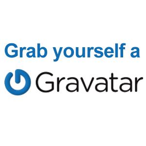 Grab yourself a Gravatar