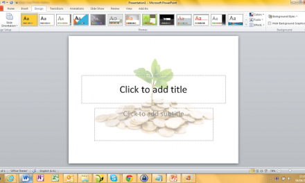 How to eliminate boring PowerPoint slide backgrounds