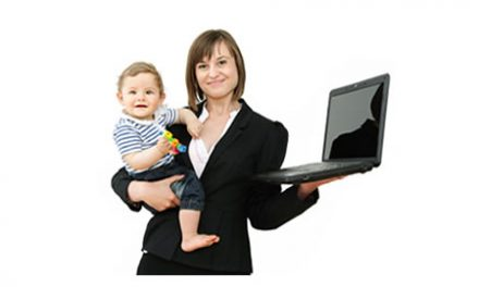 Juggling family life whilst working from home