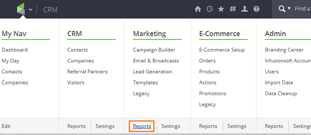 Excluding non-marketable contacts from an exported list in Infusionsoft