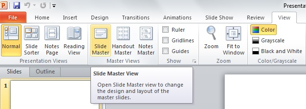 Using the Slide Master to Create Professional Business PowerPoint Templates