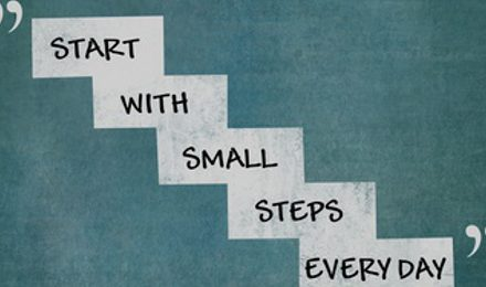 Setting Small Goals to Achieve More